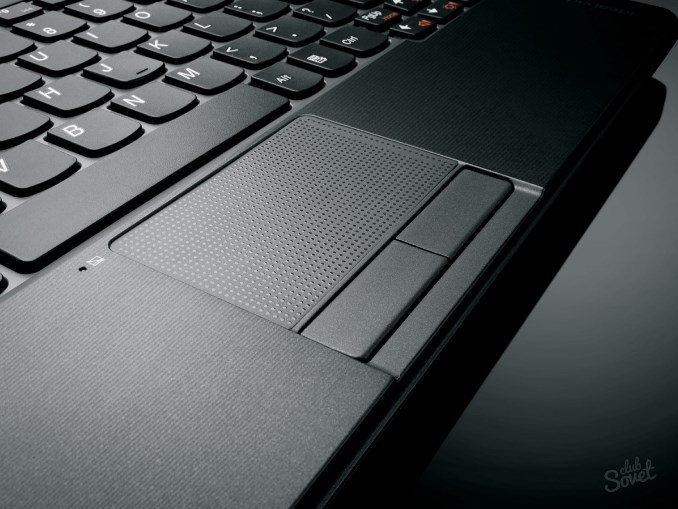отключаем мышь на ноутбуке