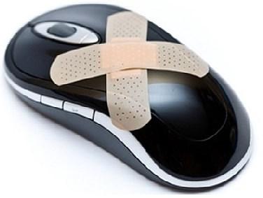 почему не работает мышь на ноутбуке