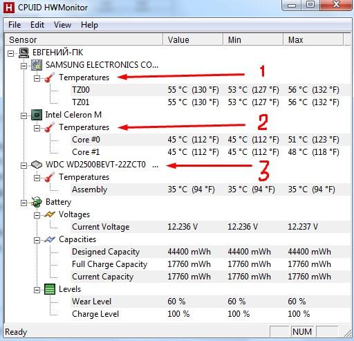 программа температуры компьютера