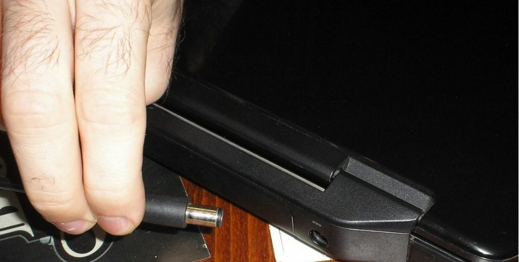 разъем питания ноутбука
