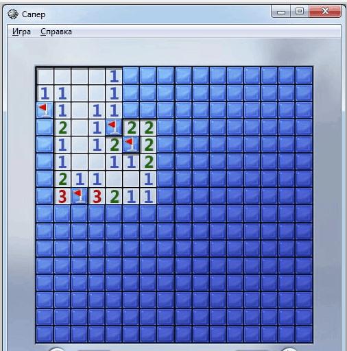 Стандартные игры на компьютере