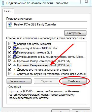 протокол интернета