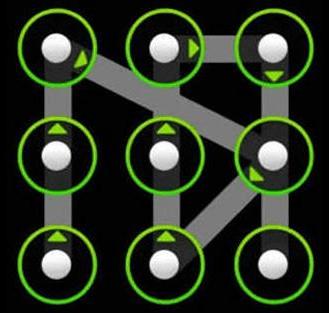 Как на планшете разблокировать графический ключ