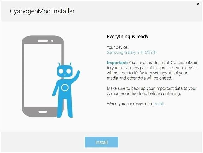 Как установить Cyanogenmod