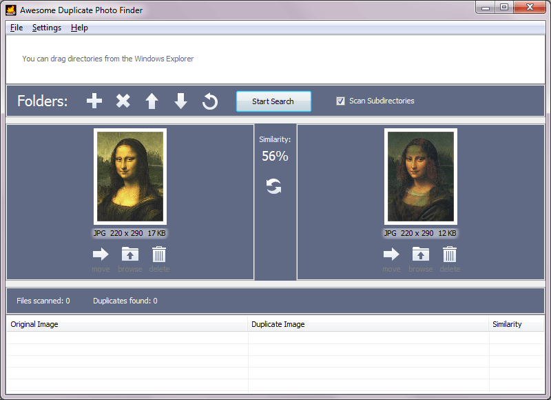 Awesome Duplicate Photo Finder 1