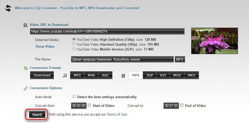 Вырезка видео онлайн бесплатно