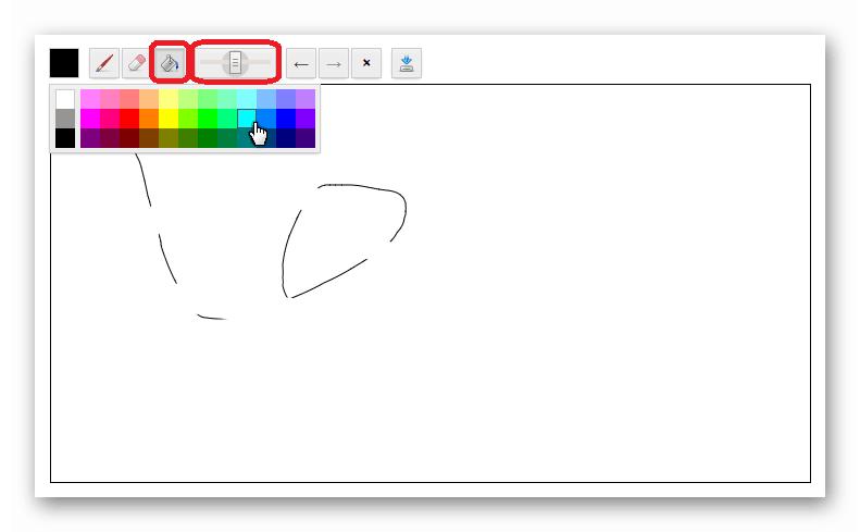 Paint заливка