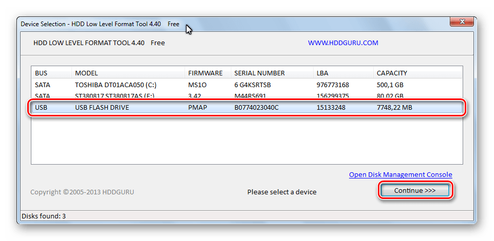 select-device-hdd-low-level-format-tool