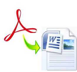 как перевести pdf в word для редактирования