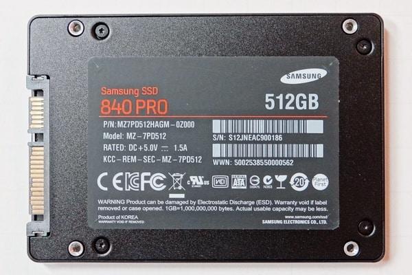 SSD на 512 Гб