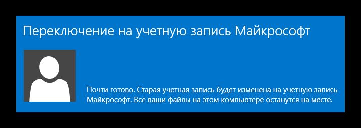Переключение учётной записи Windows 8
