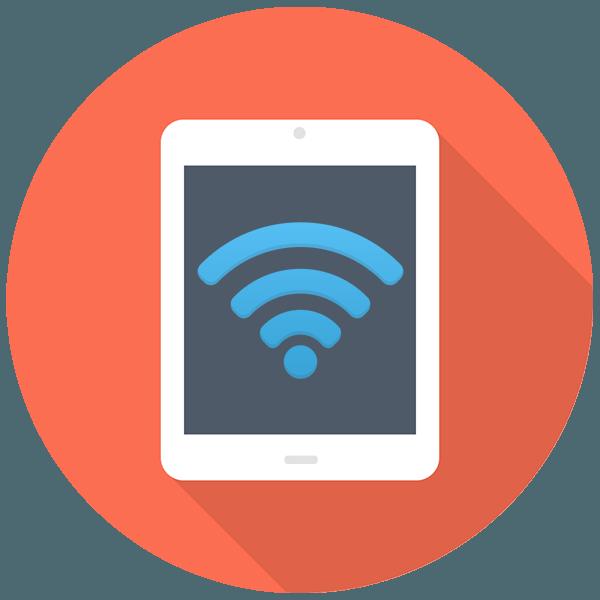 Как подключить интернет к планшету