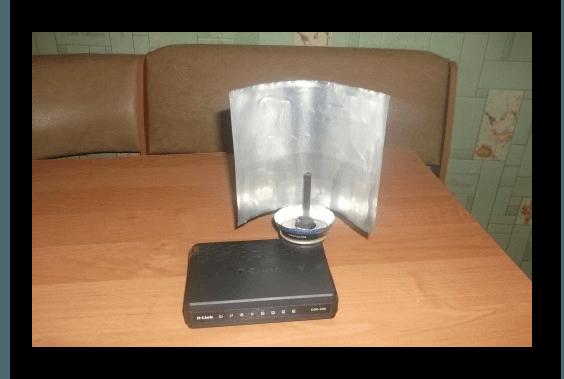 Самодельный усилитель Wi-Fi сигнала