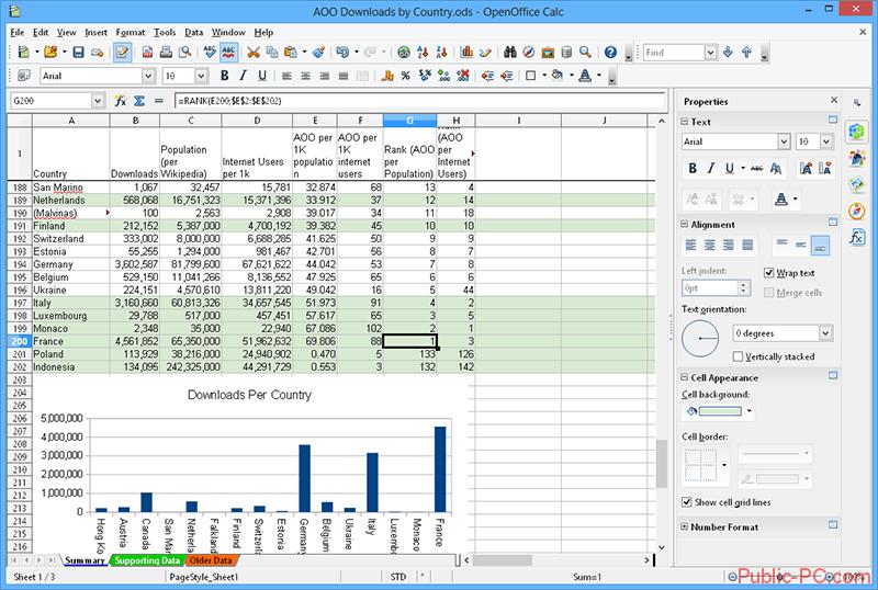 Apache-OpenOffice-Calc