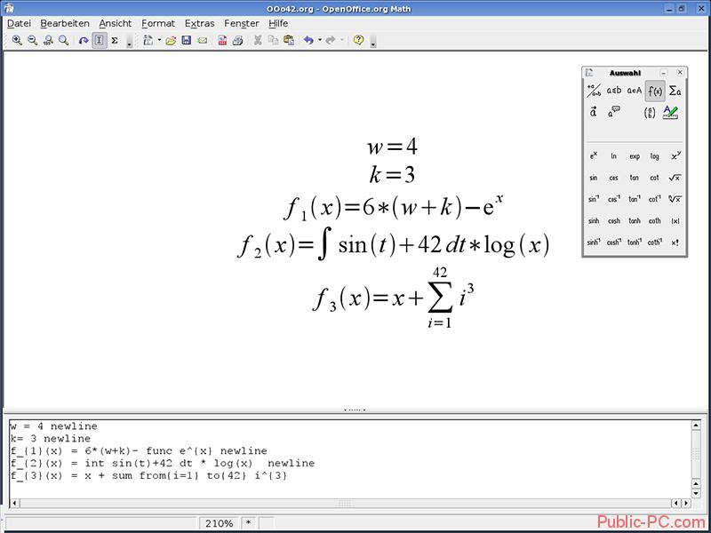 OpenOffice-Math