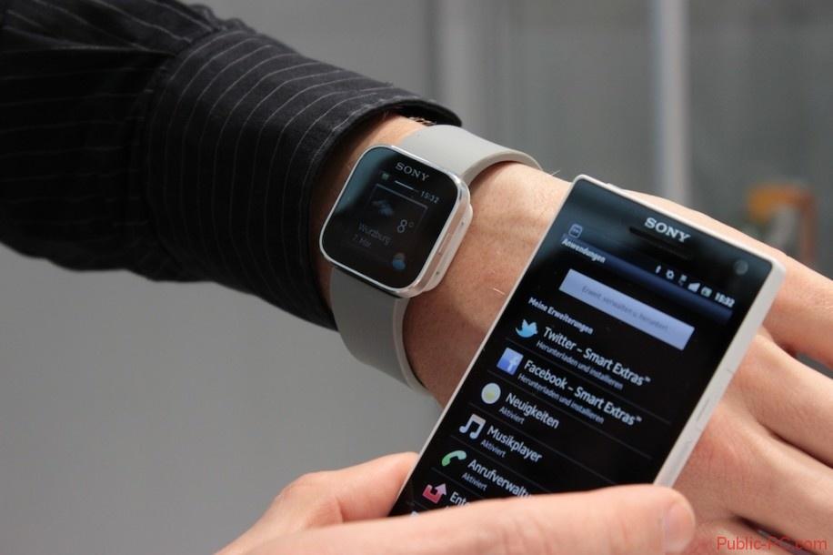 Smart-Watch и смартфон