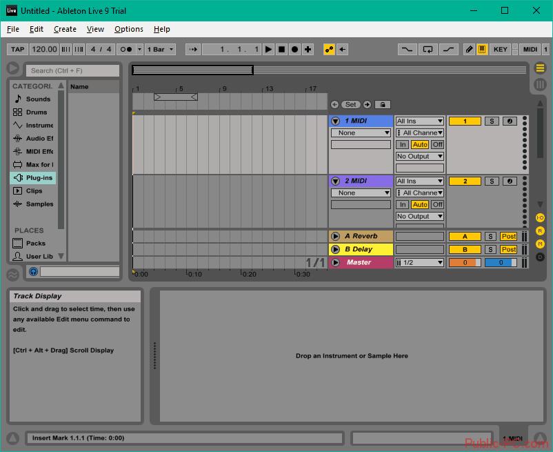 Создание музыки в Ableton-Live