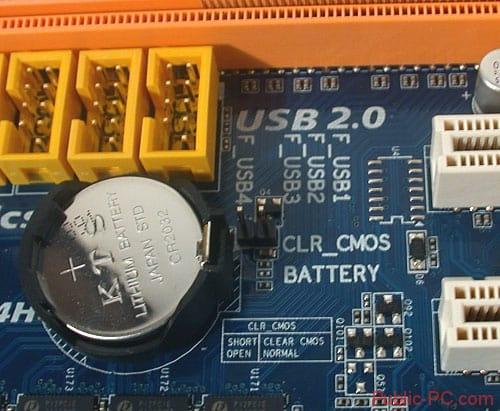 CMOS батарея