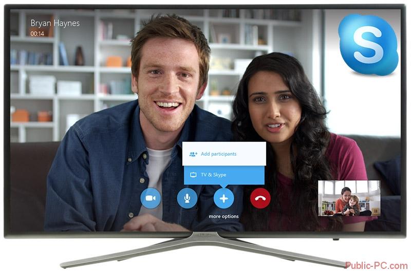 skype для smart-tv