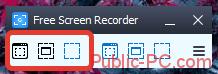 Захват изображений в Free-Screen-Video-Recorder