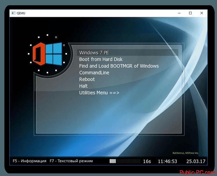 MobaLiveCD загрузка данных с загрузочной флешки