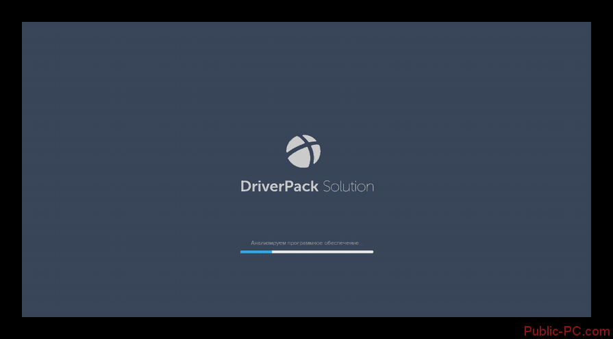 Анализ системы программой DriverPack-Solution в Windows-7