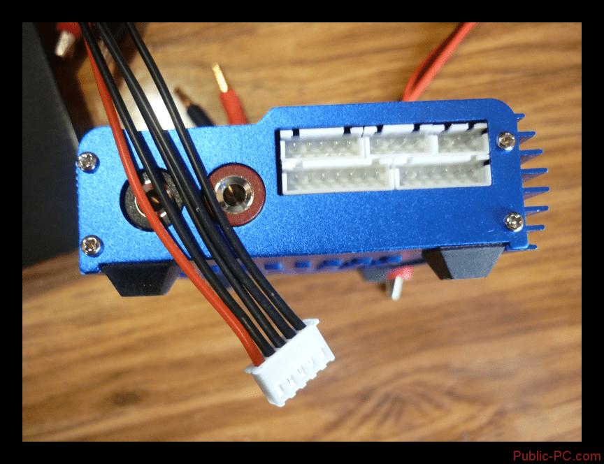 Использование балансировочного кабеля от Imax