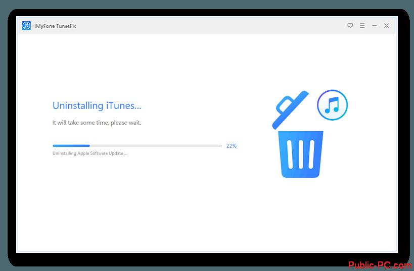 Удаление iTunes-v-TunesFix