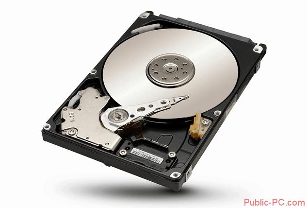 Жёсткий диск ПК