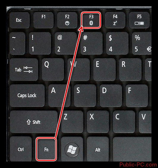 Vklyuchenie-Bluetooth-adaptera-na-klaviature-noutbuka