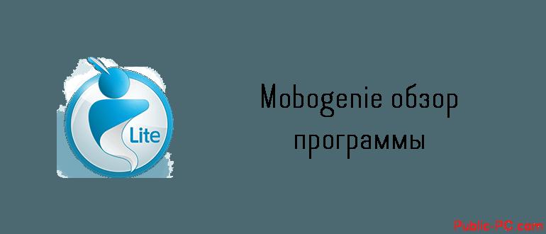 Mobogenie обзор программы