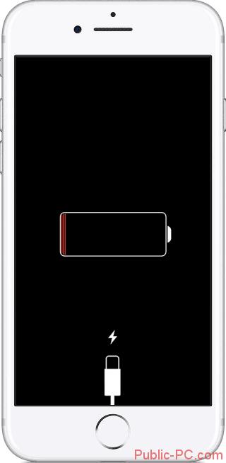 E`kran-iPhone-pri-otsutstvii-zaryadki