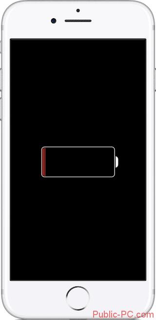 E`kran-iPhone-pri-zaryadke