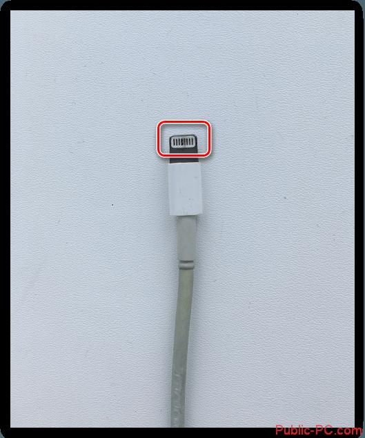 Zagryaznennyie-kontaktyi-kabelya-ot-iPhone